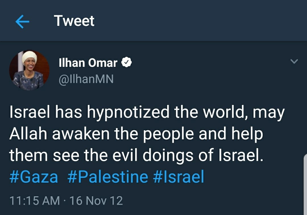 Image result for ilhan omar jew tweet