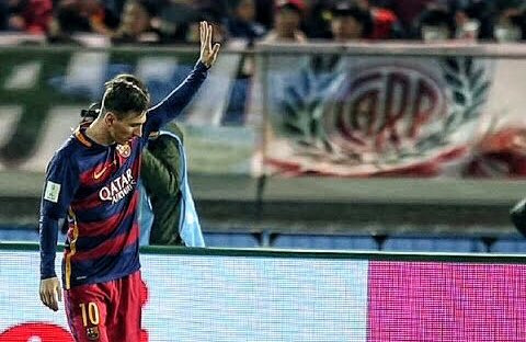 PASION RIVER's photo on Messi