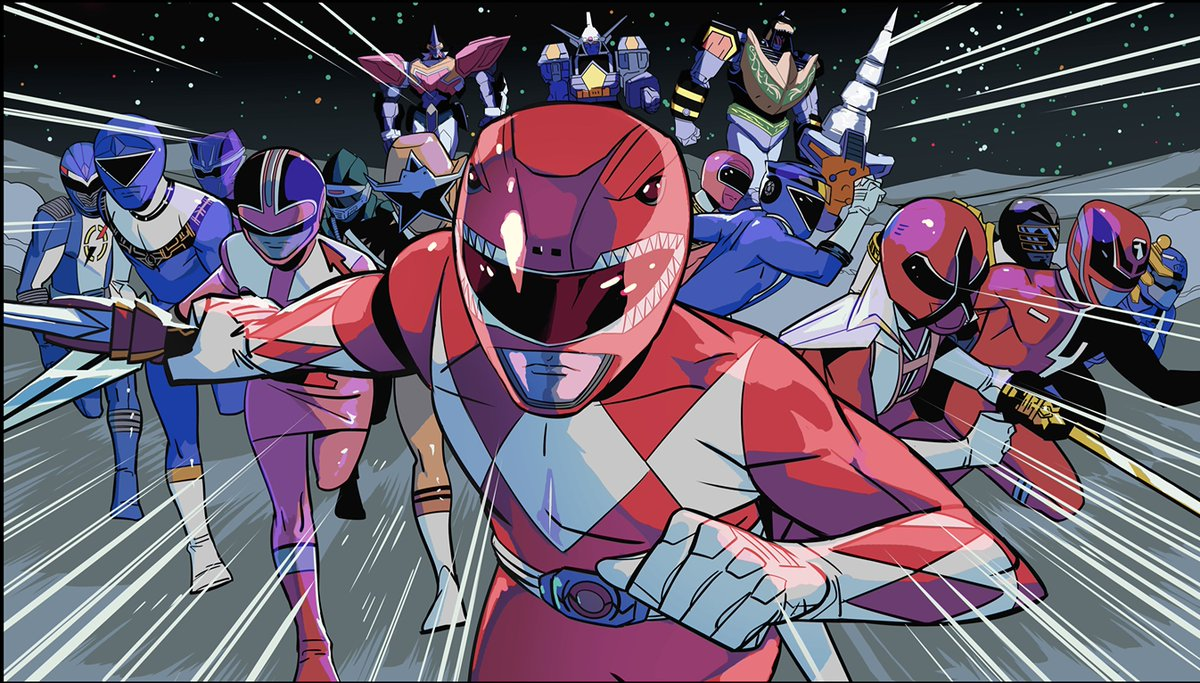 The penultimate issue of #ShatteredGrid (and my run 😢) is out today. Pick up a copy of MMPR 30 for the epic double page spreads, but stay for the Kim talk. Its all about the Kim Talk. #KimTalk