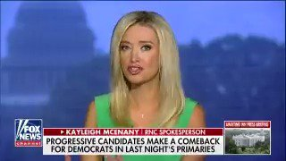 .@kayleighmcenany: 'The stronger tide in the Democratic Party is socialism.' #OutnumberedOT https://t.co/EMQjMDwfXB