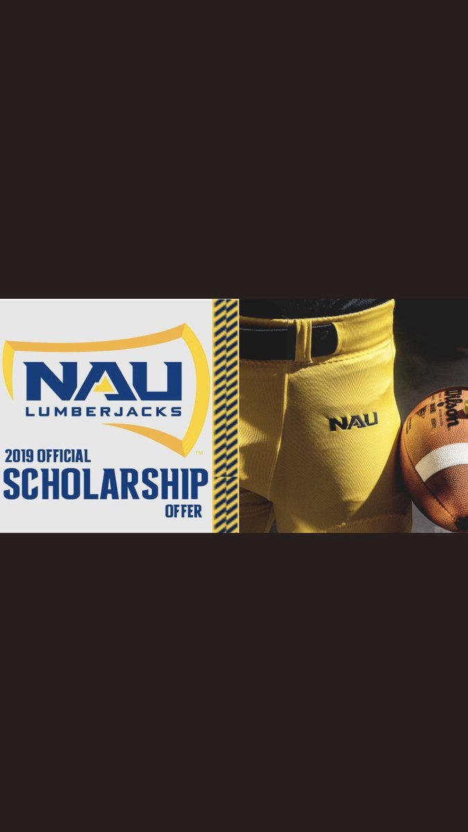Very excited to receive my first D1 scholarship offer from Northern Arizona University! Big thanks to @Coachsouers @naucoachdavis @aaronpflugrad and @N_Butier45 for the opportunity!!<br>http://pic.twitter.com/tRCMIAm5Vr