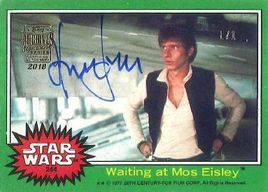 NEW CHECKLIST: 2018 Topps Archives Star Wars Signature Series  http:// ow.ly/aIO030lq2iP  &nbsp;  <br>http://pic.twitter.com/gJR936k6vJ