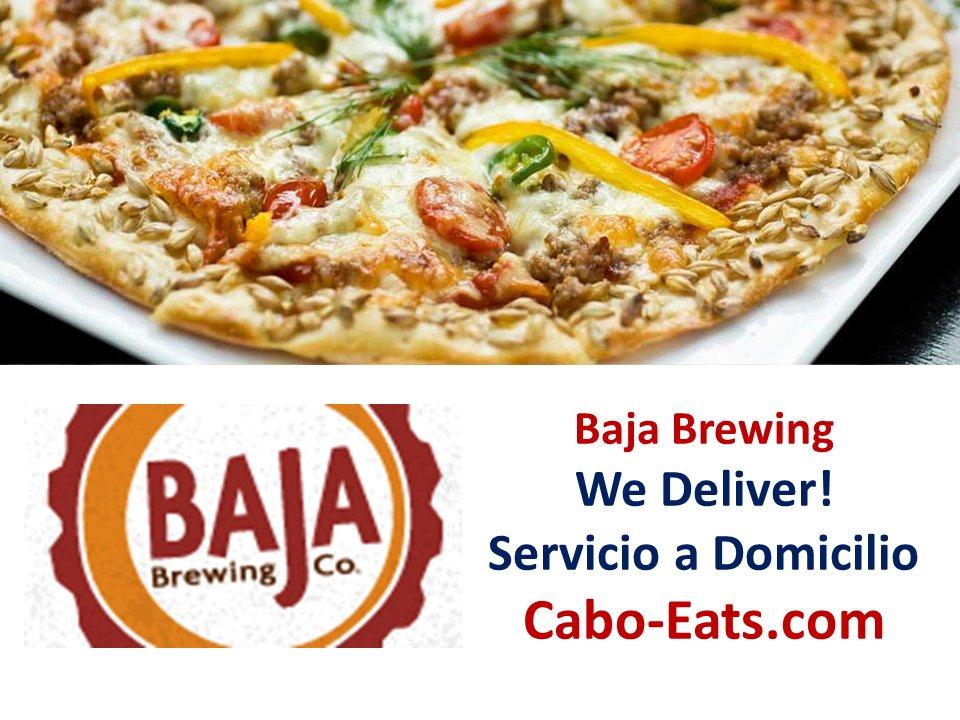 Baja Brewing Company CSL  We Deliver - Servicio a Domicilio  Order Online - Ordena en Linea  VIEW MENU HERE - VER MENU AQUI   http:// cabo-eats.com/restaurant/baj a-brewing-co/ &nbsp; … <br>http://pic.twitter.com/N8gcUC9iyS