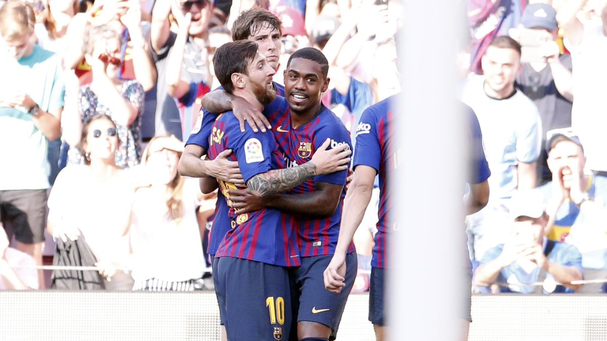 FC Barcelona's photo on Riqui Puig