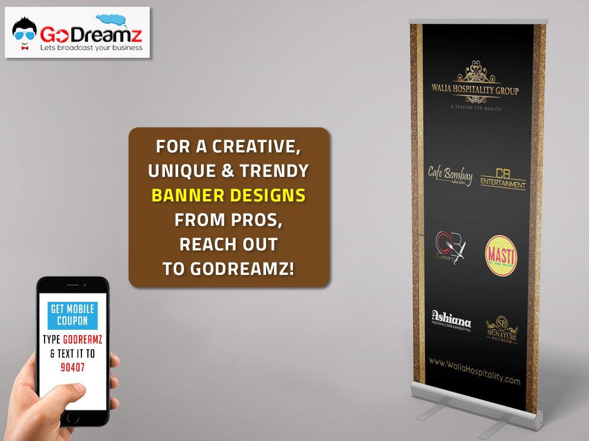 go dreamz on twitter professional banner design services