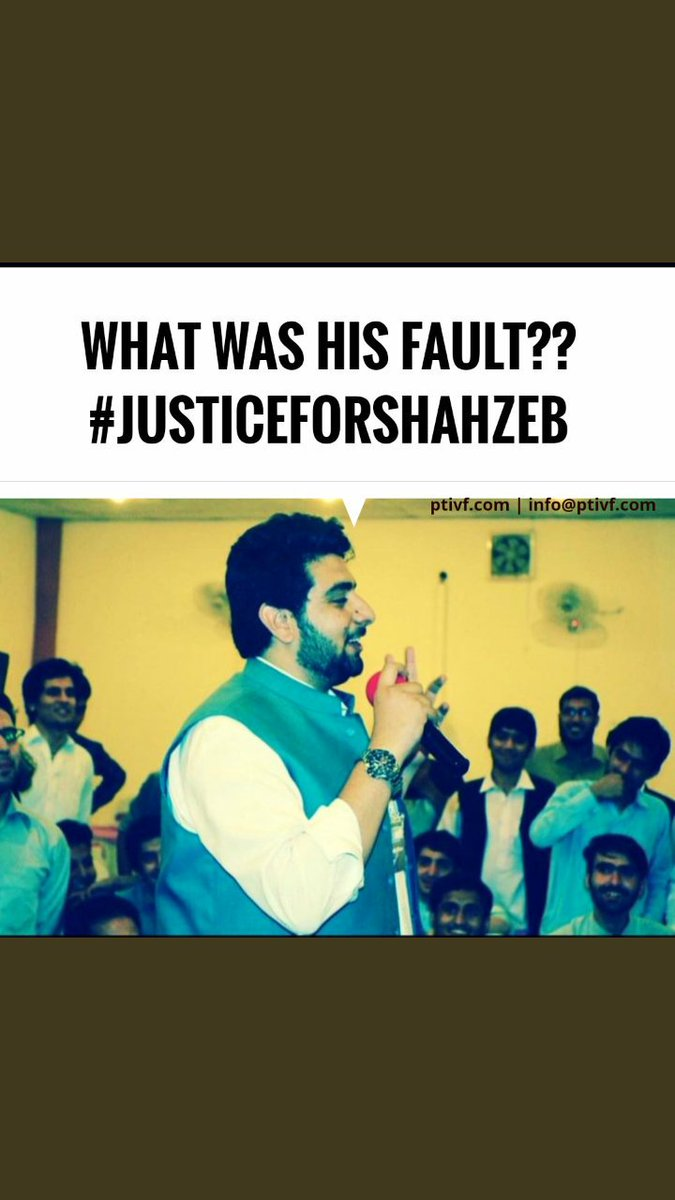 He has the family just like we have He had ambitions just like we have He had basic right to live just like we have.But question arises are in Pakistan only those killed who r loyal &amp; the criminals are wandering on roads in the name of the people welfare.  #JusticeForShahZeb<br>http://pic.twitter.com/vdqcP6iRH2