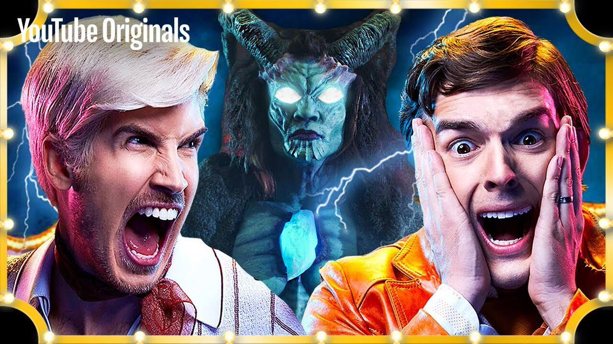 💎 THE CARNIVAL MASTER 💎 The FINALE of @EscapeTheNight season 3 is NOW streaming on @YouTube Premium. #EscapeTheNightFINALE 🎪 WATCH HERE: youtu.be/LofHi4peFMk