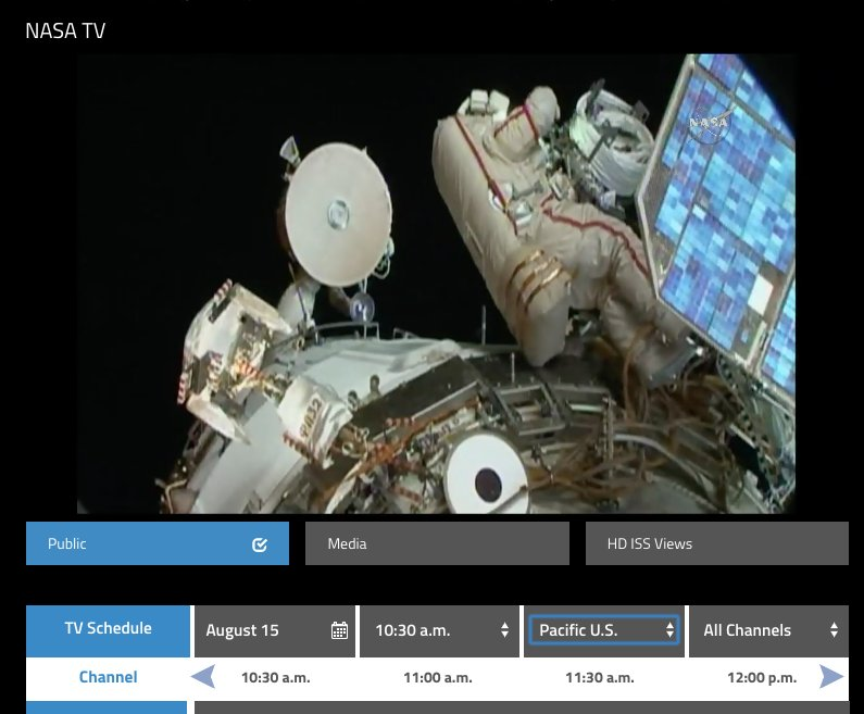 The ICARUS satellite for tracking bird migration is being installed by cosmonauts on ISS. Seriously, it&#39;s happening NOW &amp; you can watch it on @NASA TV!  https://www. nasa.gov/multimedia/nas atv/#public &nbsp; …  Congratulations @animaltracking ...and thanks! #ICARUSinitiative #birdmigration #climatechange<br>http://pic.twitter.com/GqeTIhB56P