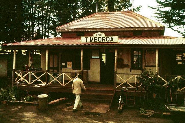 Vintage Image of Timboroa Railway Station. Image Courtesy of Kenyan Facts