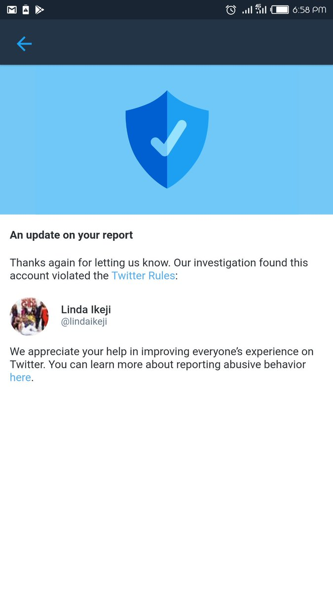 Breaking News:  @lindaikeji twitter handle has been suspended after failing to pull down a content that was abusive.  The mum of the kids cried out and she refused, probably feeling like a too big to touch influencer...  Here is the outcome... @ChiefOsaretin<br>http://pic.twitter.com/KJV8VA2o7a