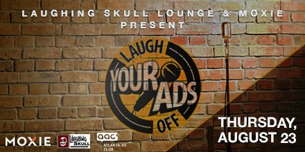 We&#39;re pumped to sponsor such an awesome event with @LaughingSkull &amp; @MoxieUSA! Get ready for an evening full of laughs about #agencylife from comedians that are also #ATL #agency professionals. More details:  http:// moxi.ee/LYAO2018  &nbsp;  <br>http://pic.twitter.com/Vlav1Abziu