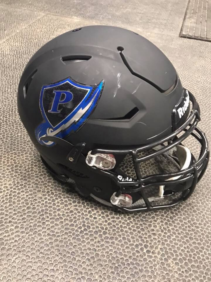 New helmets are ready to rock for Friday night! #ParkwoodPride @UCNCFootball @PWRebelsAD<br>http://pic.twitter.com/7IpbO5FEZZ