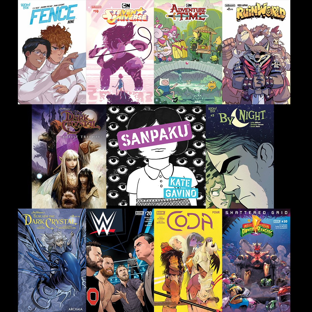 Ah, #NCBD! Our favorite day of the week. What new #comics are you picking up at your local comic shop today?