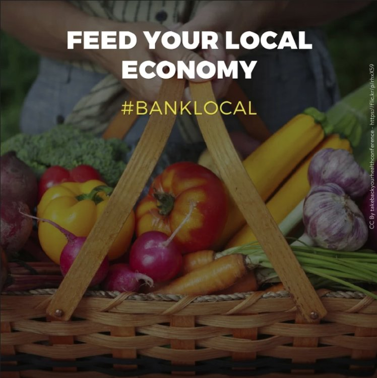 When you bank locally your dollars fuel local business growth. #banklocal #takebackbanking<br>http://pic.twitter.com/U6byBlItUL