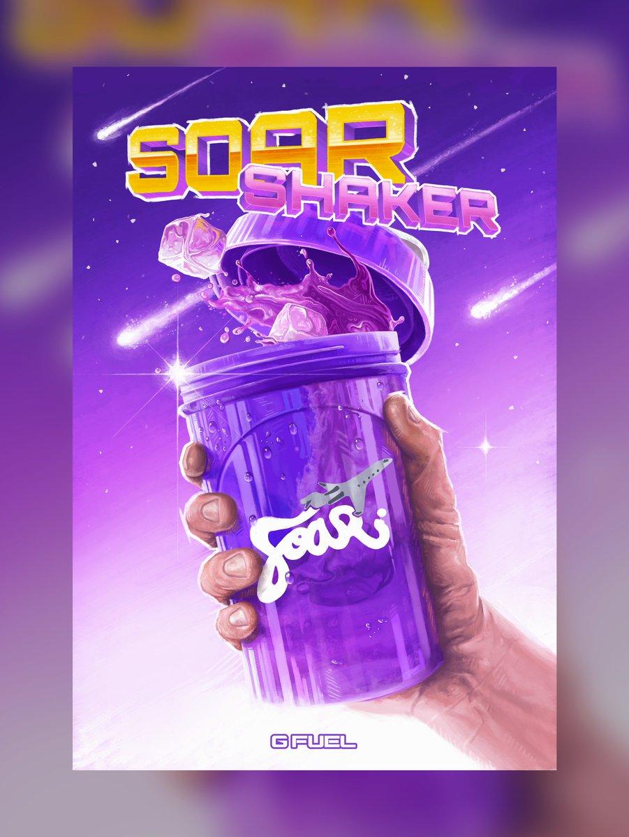 Painted SoaR Shaker Advertisement! First #SoarRC response, hope ya like!