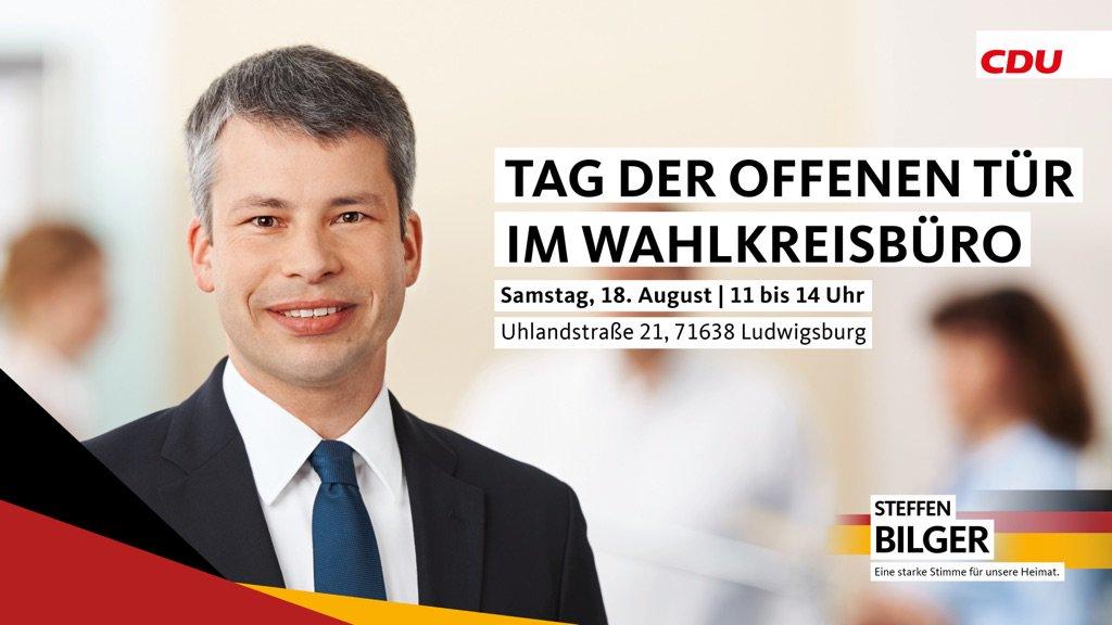 Steffen Bilger On Twitter Herzliche Einladung Zu Meinem Tag Der