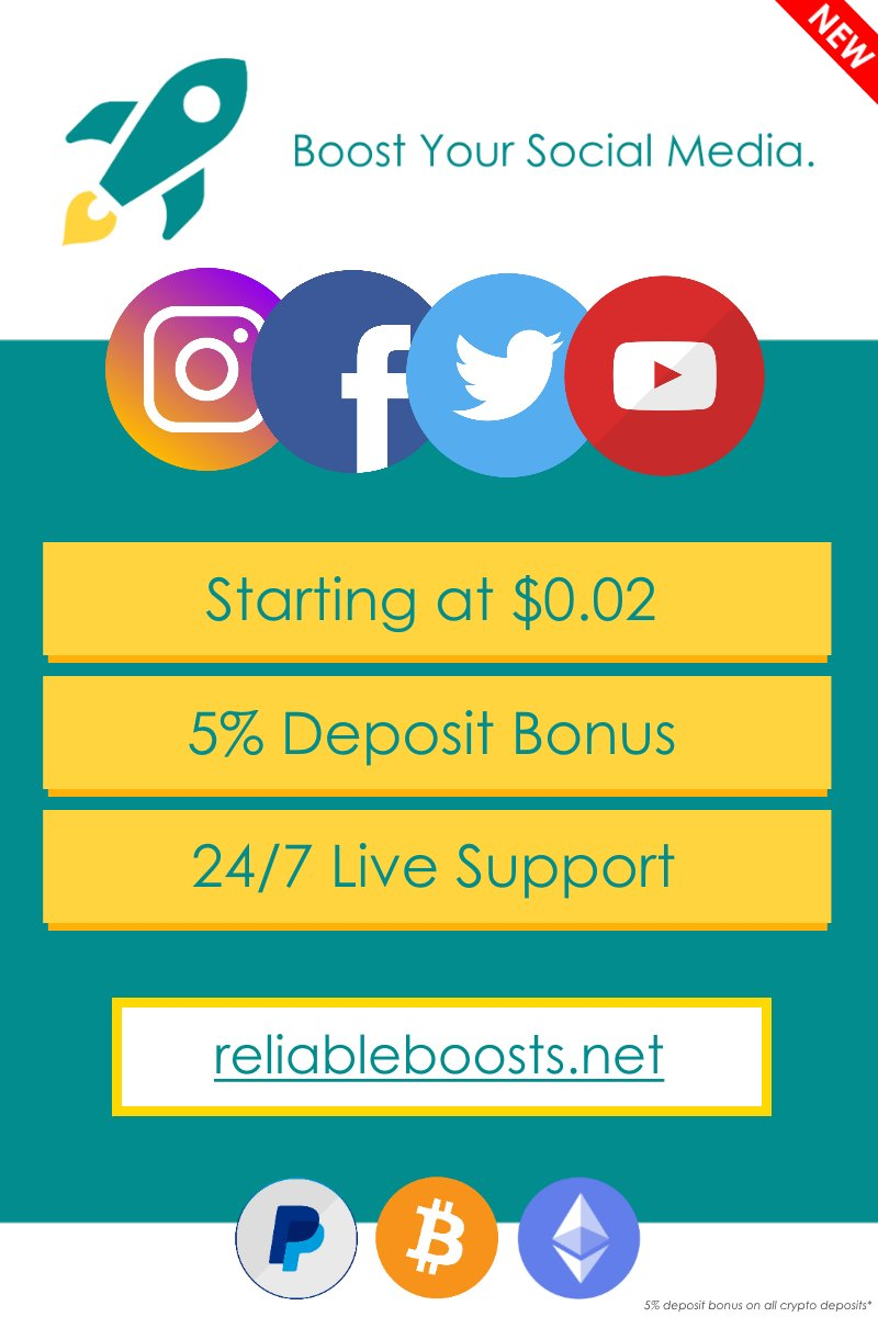 Reliable Boosts (@BoostsReliable) | Twitter