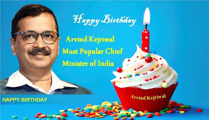 Make proud people of India Happy birthday Arvind Kejriwal.