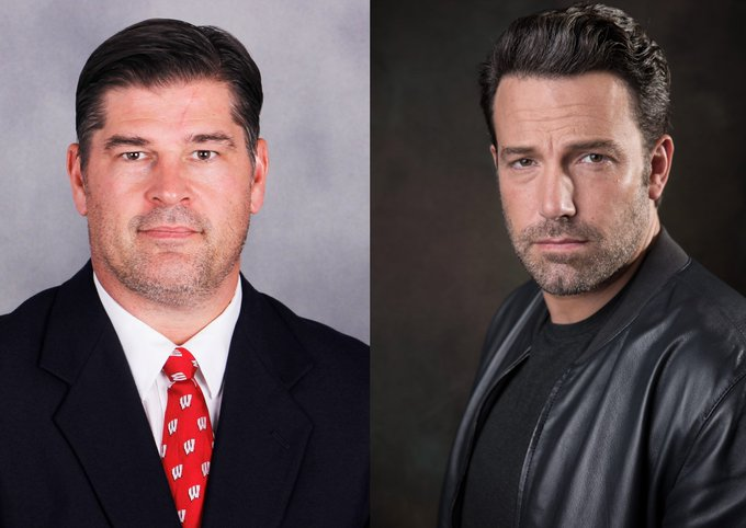 Who wore the five \o-clock shadow better, Mark Strobel or Ben Affleck? Either way, happy birthday to both!
