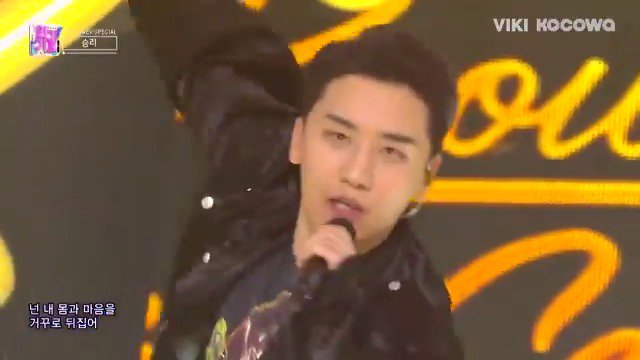 #Seungri is killing it with his new song on #Inkigayo! Catch more on Viki: bit.ly/InkigayoTW