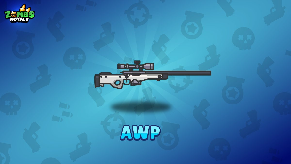 airdrops have landed in zombsroyale they will contain one of these three new airdrop only guns awp mg36 and vector pic twitter com i6mfh9e3fr - bailes fortnite vector