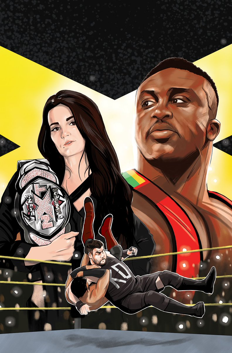 Get an exclusive first look at @WWE: #NXT TAKEOVER - PROVING GROUND #1, in comic shops 9/12! bit.ly/NXTProvingGrou…