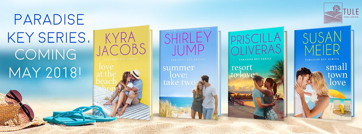 Enjoy the last weeks of summer and take a #bookcation with these sweet beach reads from the Paradise Key series! @shirleyjump @KyraJacobsBooks @PrisOliveras @susanmeier1  http:// bit.ly/2HoZ1aB  &nbsp;   #readztule<br>http://pic.twitter.com/YkKpKS7dMV
