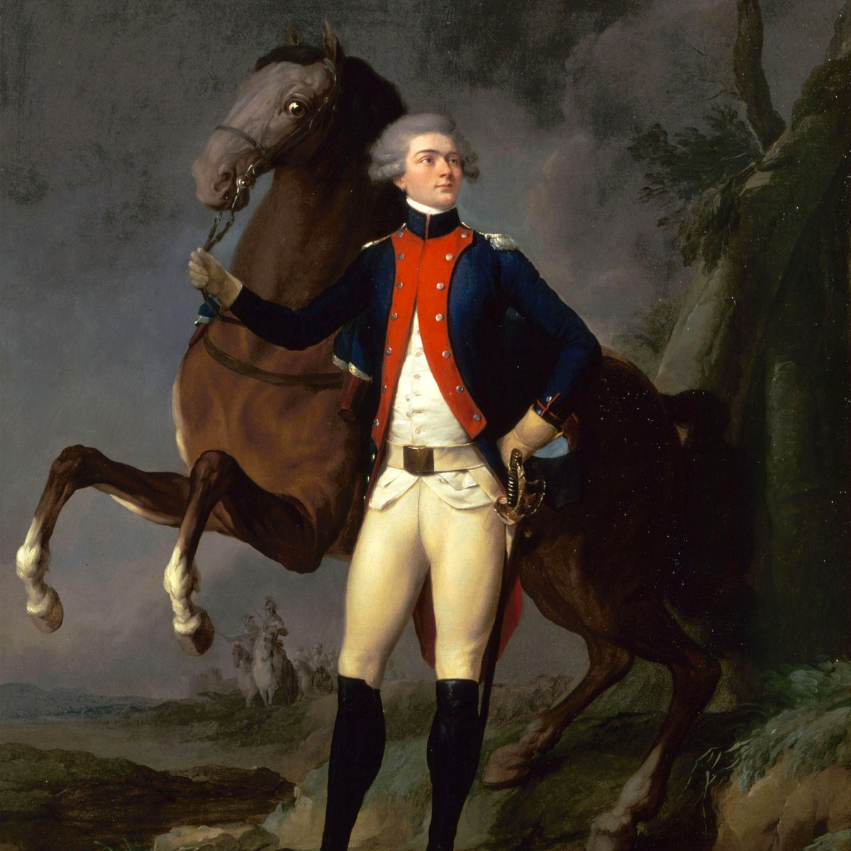Long before hitting the road for @HamiltonMusical's US tour, in 1824 the real Marquis de #Lafayette set out on a 24-state tour honoring his heroic feats during the American Revolution! He received many honors and monuments...and maybe signed a few autographs. #OldestAllies