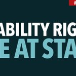 Image for the Tweet beginning: Whether you care about disability
