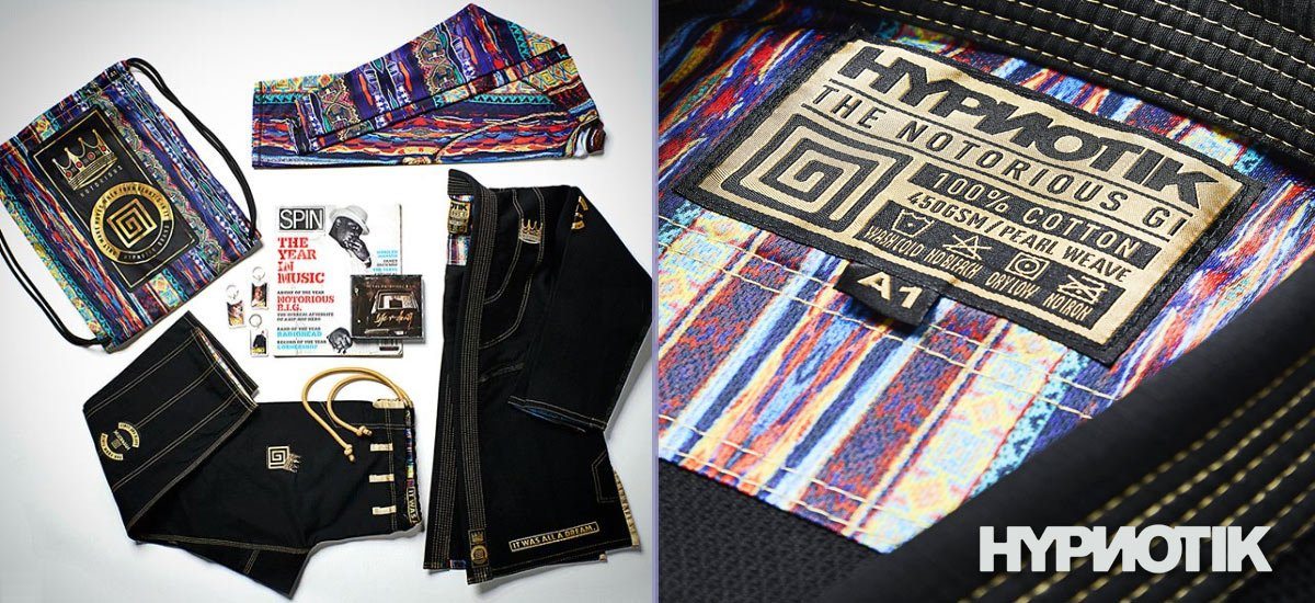 Behold, the #BJJ Gi of the Year is here, and it isn't all a dream. Introducing the @Hypnotik_Brand Notorious Gi. http://bit.ly/NOTORIOUS