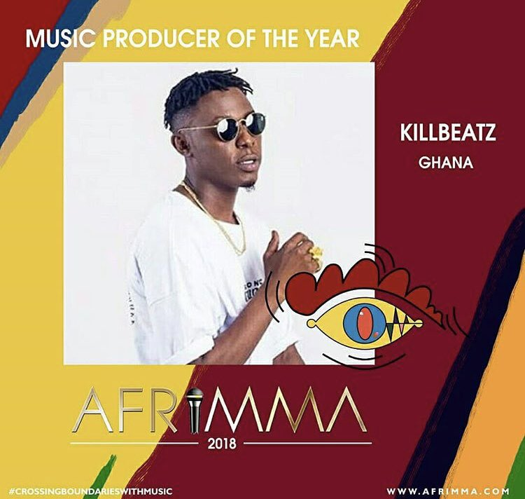 Label CEO @killbeatz has been nominated for the @afrimma Awards. Log on to  http:// afrimma.com  &nbsp;   to vote<br>http://pic.twitter.com/0KP4NWjvg0
