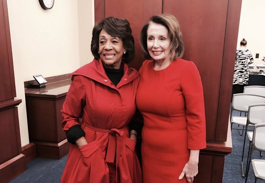 Happy birthday to my friend and colleague @MaxineWaters. You are a strong, courageous and dedicated role model who knows how to get the job done. And that strikes fear in the heart of .@realDonaldTrump