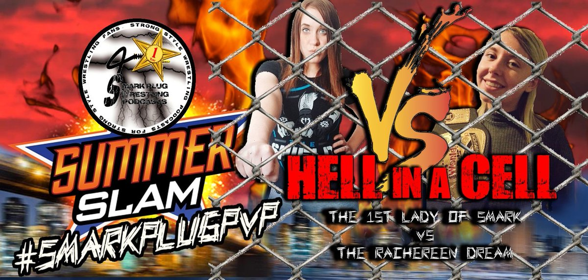 And in what promises to be a brutal collision after months of warring battles and words exchanged over social media &quot;The 1st lady of Smark&quot; @Taylorr1114 will face &quot;Rachereen Dream&quot; @WWERDream inside the Predictions Hell in a Cell to finally settle this! #SmarkPlugPVPSummerslam<br>http://pic.twitter.com/mLklNCHRGO