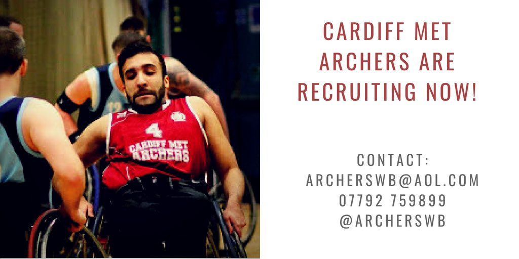 Fancy giving wheelchair basketball a try in Cardiff? New and experienced players welcome. You don't necessarily have to be a wheelchair user to play this awesome sport #GetInvolved #ArchersFamily <br>http://pic.twitter.com/MY2S1Mr0jz