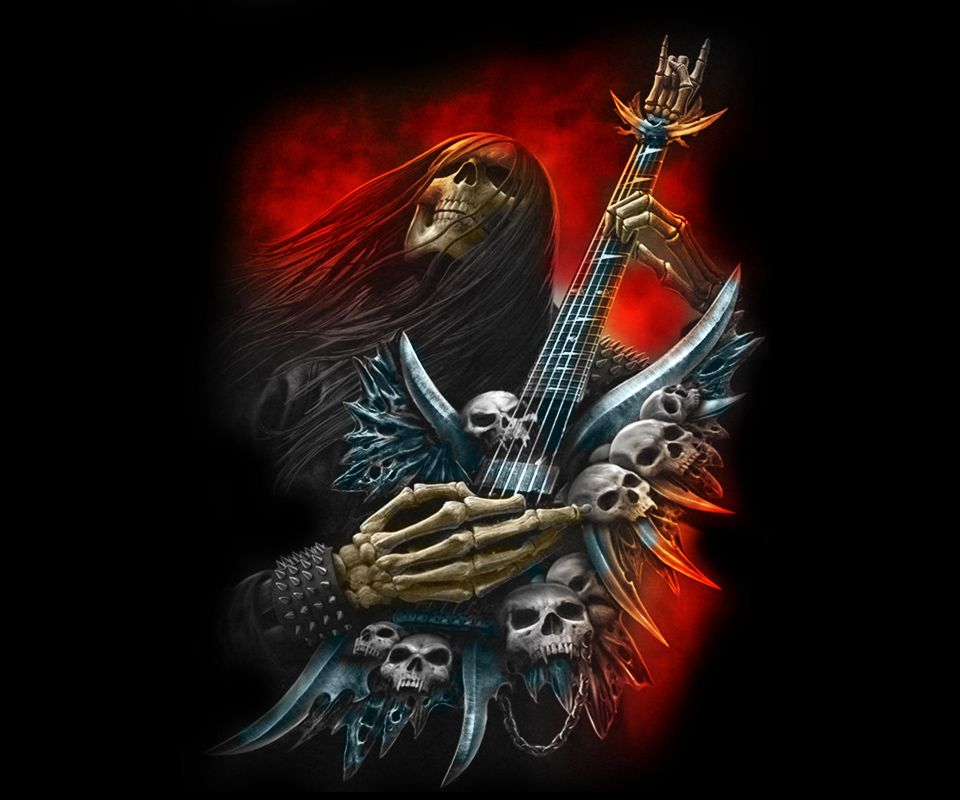 Монстры с гитарами картинки