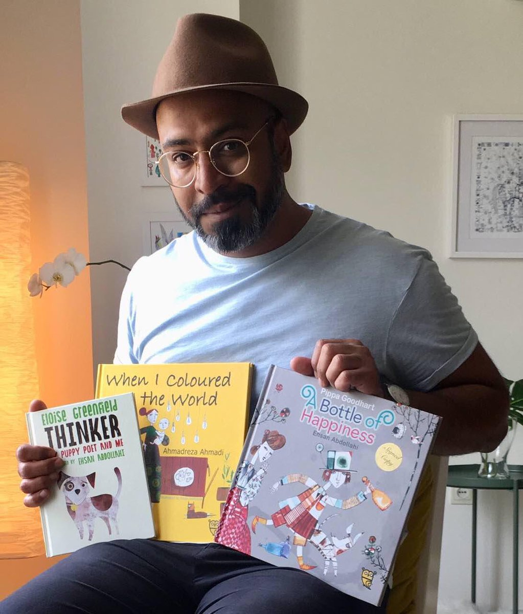 Lovely booksellers and librarians! We were wondering if you could show your effective support on the #VisaforAbdollahi issue and feature #EhsanAbdollahi&#39;s beautiful books? It&#39;s absolutely heart-warming if you could send any photo to us.<br>http://pic.twitter.com/0Pbx7j3Rr3