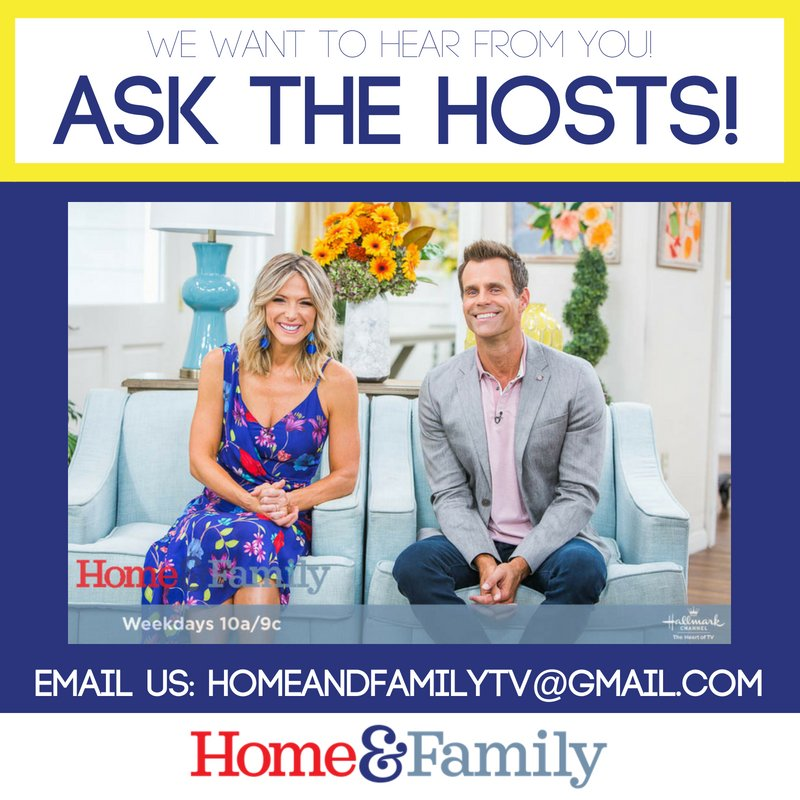 Home Family On Twitter We Want To Hear From You Askthehosts