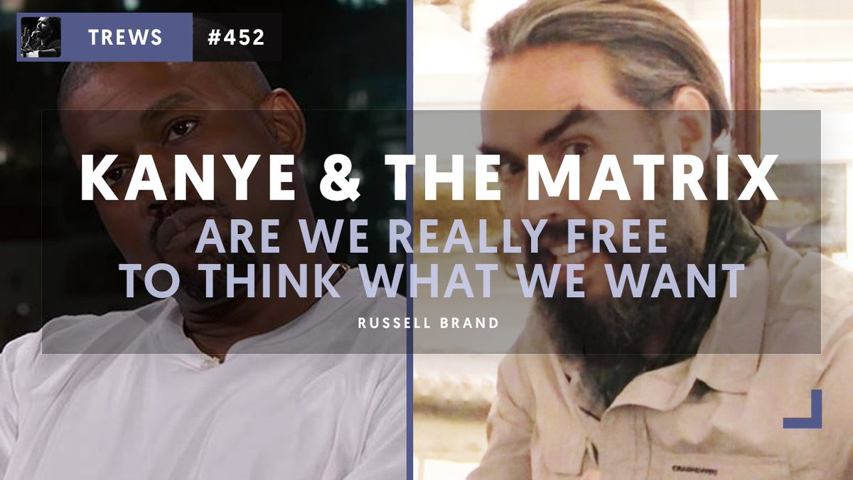 Kanye & The Matrix - Are We Really Free To Think What We Want? Watch The Trews here:  https://t.co/L1jWveCbq0@kanyewest
