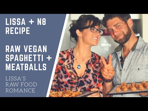 LISSA + N8 RECIPE: SPAGHETTI AND MEATBALLS || RAW FOOD VEGAN GLUTEN FREE https://t.co/3PRTRek1lZ https://t.co/83ueajxEJ4