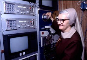 Today @EWTN celebrates 37 YEARS since Mother Angelica--the first female to  launch a TV network! Much of what Mother did was in response to the #CivilRights movement in the South-May we all hope to be as courageous and daring during crises within our communities. #MotherAngelica<br>http://pic.twitter.com/ewa8sPLttK
