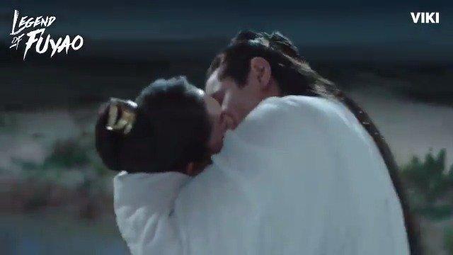 This kiss between #YangMi and #EthanJuan are giving us all the feels! Watch #LegendOfFuyao on Viki: bit.ly/LegendOfFuyaoTW