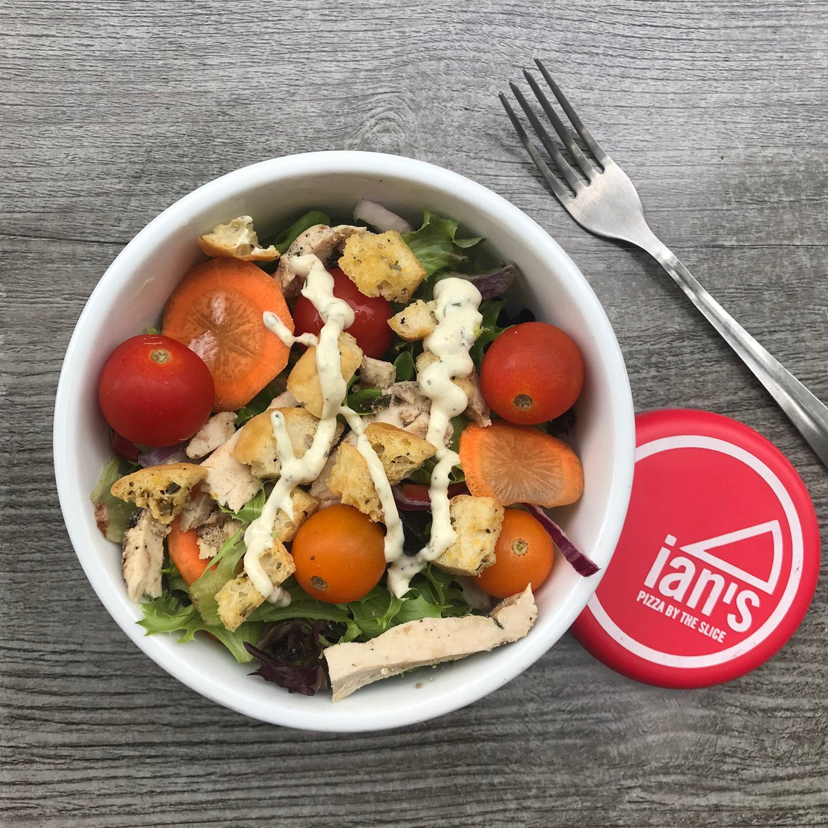 Free Salad Alert! Retweet this tweet and you'll get entered to win a week's worth of free salads! #ianspizza #WellnessWednesday <br>http://pic.twitter.com/YcQqF86BAl