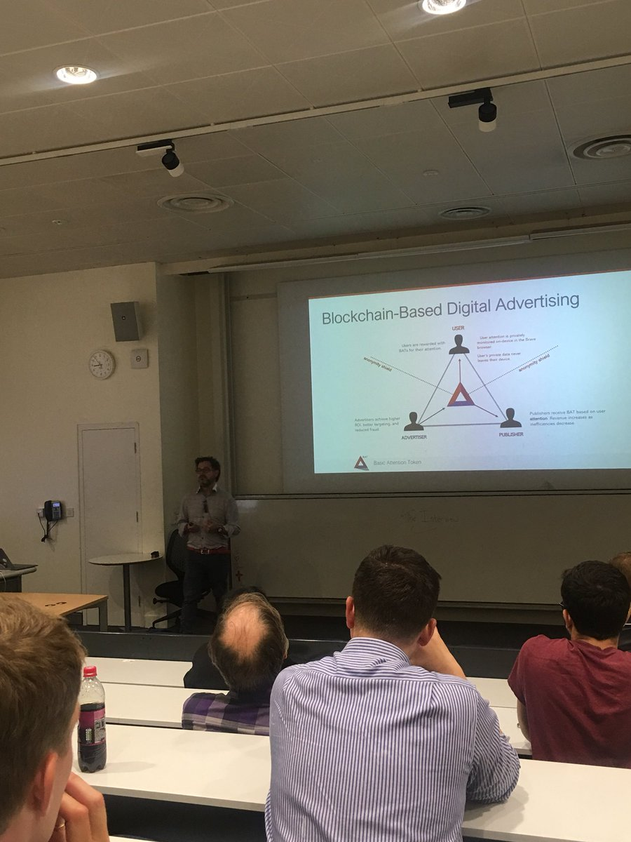 A catch-up with @AttentionToken at #ETHLDN #ethereum #blockchain<br>http://pic.twitter.com/R17ZoTLdfa