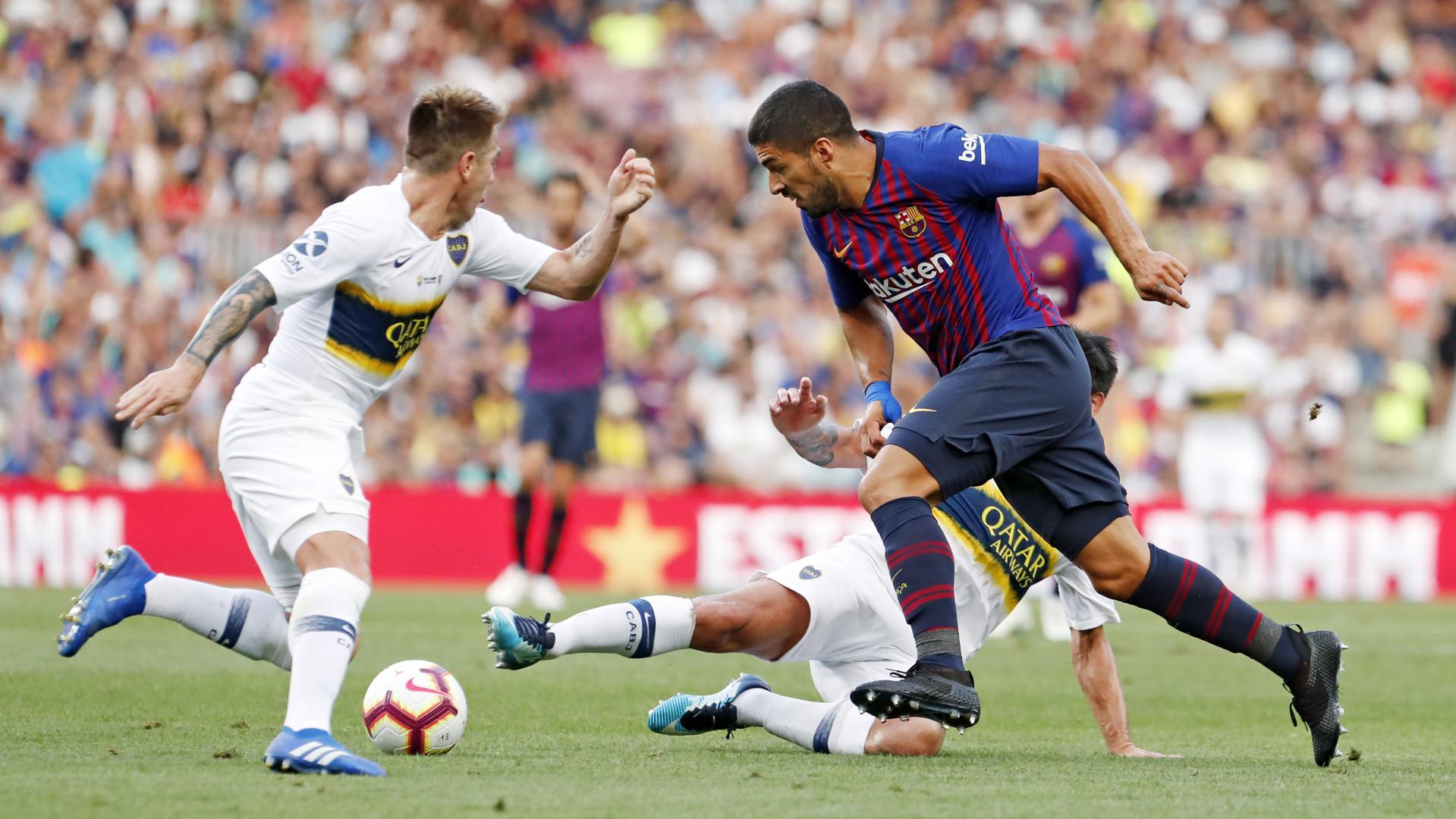 �� Aquí tienes las mejores imágenes del partido contra Boca Juniors �� https://t.co/20MwZoAZKb ���� #GamperBarça https://t.co/uxNsyygV2p