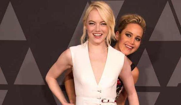 JUST when we thought we couldn't love them any more Jennifer Lawrence interviews Emma Stone and let's just say it's a must-read. https://t.co/A0augjrU7f