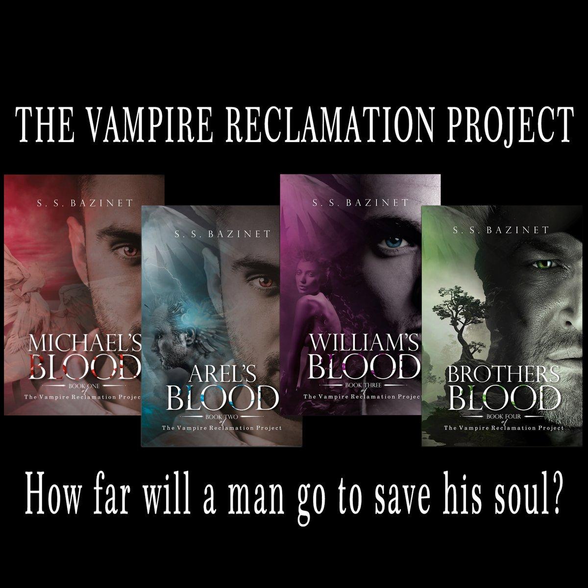 THE VAMPIRE RECLAMATION PROJECT (4 Book Series)  https://www. amazon.com/gp/product/B01 KVJWM6O/ &nbsp; …  … … by @SSBazinet  FREE on #KindleUnlimited #Fantasy #IARTG #IAN1<br>http://pic.twitter.com/4Mt6pEetfS