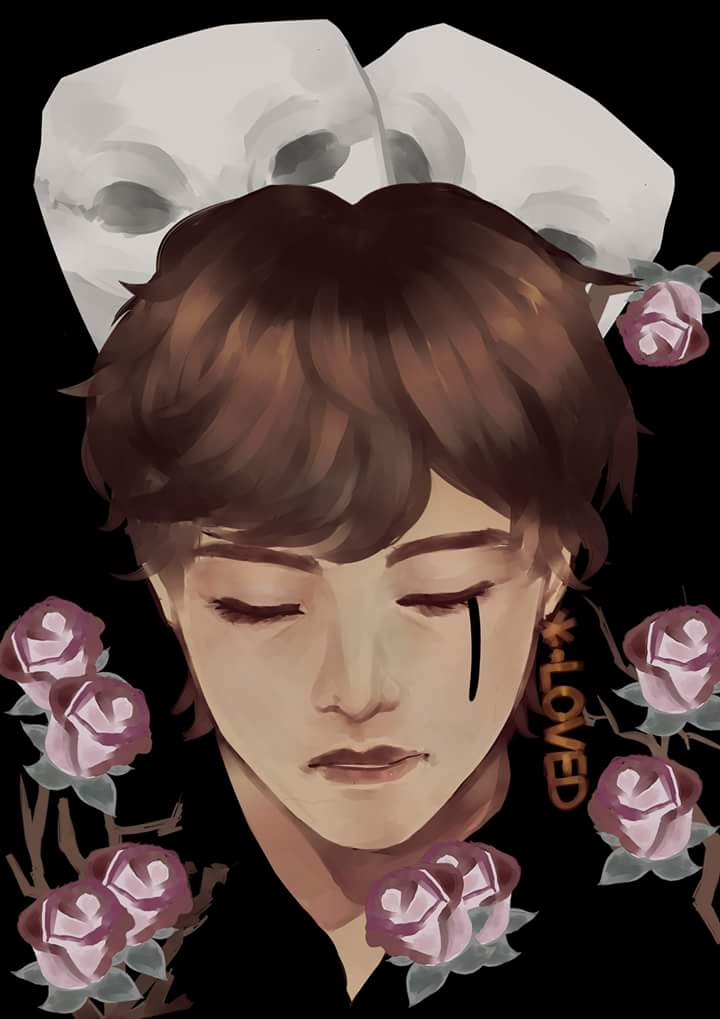I wont upload my comifuro catalogue until noon (like.. nine hours from now..)  Enjoy tae  the one from my  ava~  #bts #btsfanart #singularity #taehyung #LOVE_YOURSELF <br>http://pic.twitter.com/jDWAHp93n3