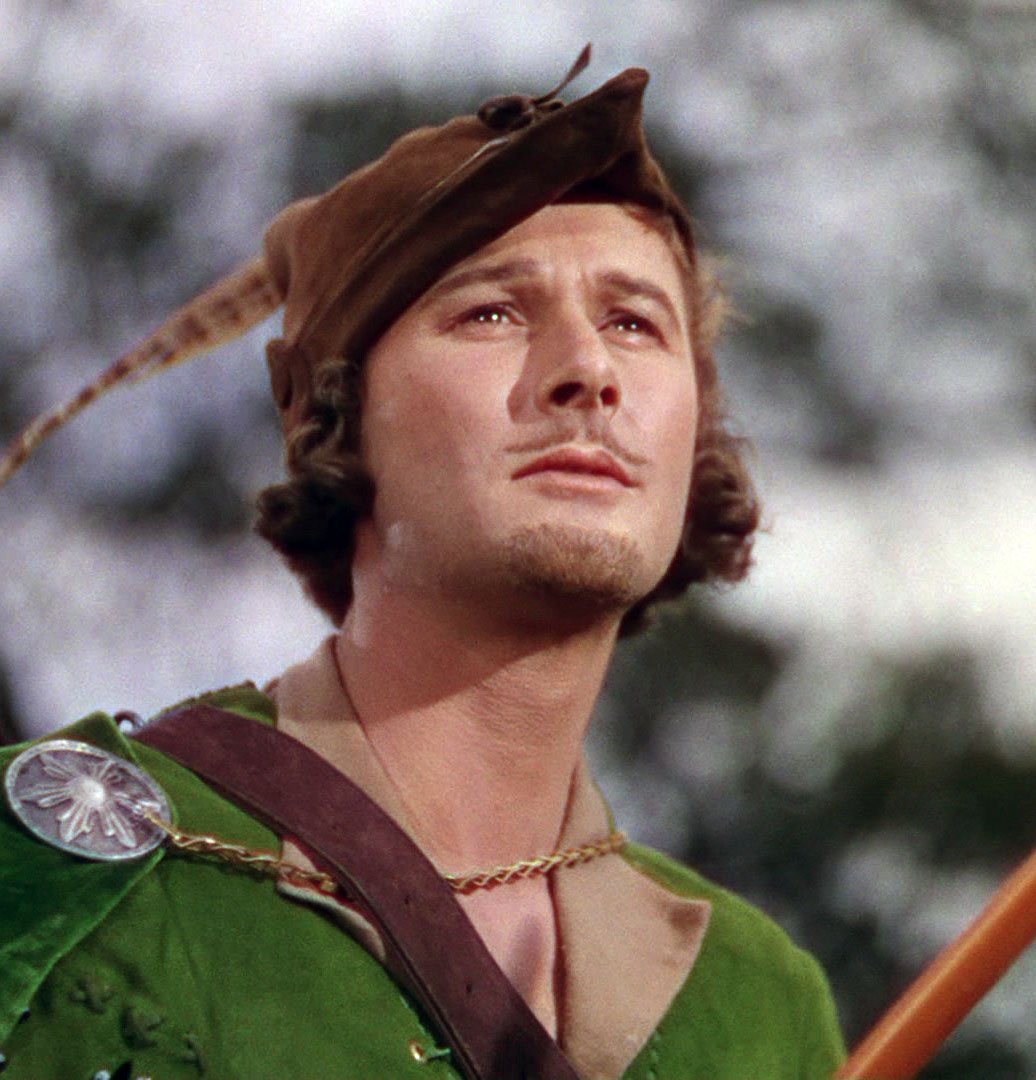 &#39;The Adventures of Robin Hood&#39; (1938) When Prince John and the Norman Lords begin oppressing in King Richard&#39;s  absence, a Saxon lord (Errol Flynn) fights back as the outlaw leader of a rebel guerrilla army Dir. by Michael Curtiz, with Olivia de Havilland, Basil Rathbone &amp; others <br>http://pic.twitter.com/od2gzbkfOL