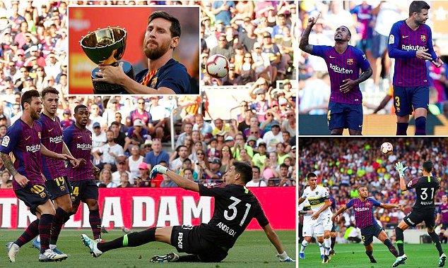 MailOnline Sport's photo on Messi