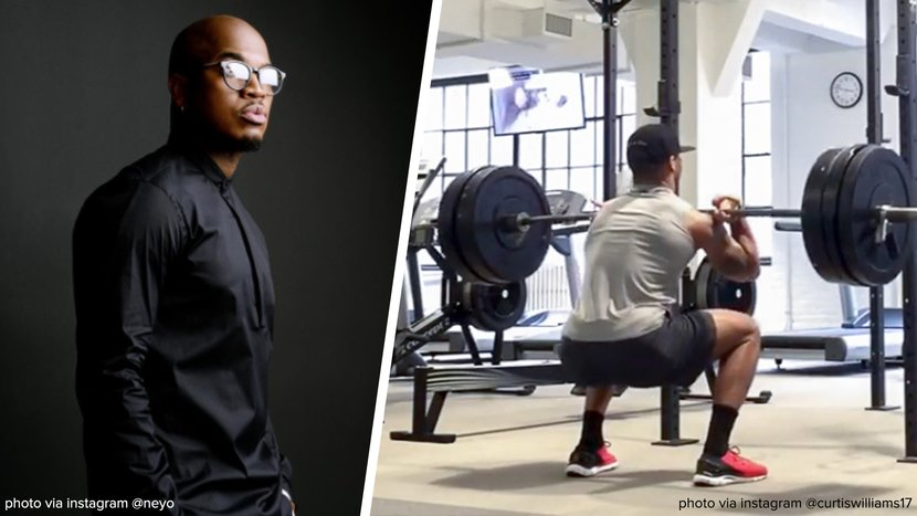 How Ne-Yo's Trainer Puts The Performer Through His Paces  Ne-Yo doesn't just kill it onstage, he kills it in the gym, too. #Bodybuildingcom #BuildYourBody   Read more: https://t.co/IMa4yBwS8B